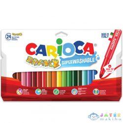 Színes Maxi Filctoll 24 Db-os - Carioca (Carioca, 42763)
