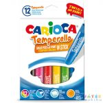 Carioca: Színes Tempera Stick 12Db-os Kimosható (Carioca, 42738)