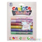 Textilfestő Szett 6 Színnel - Carioca (Carioca, 42139)