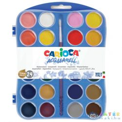 Vízfesték Készlet 24 Színnel - Carioca (Carioca, 42401)