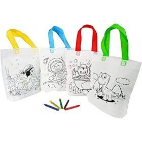Szinezhető táskák, kiegészítők és figurák