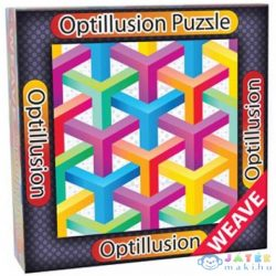 3D Optillusion Tile Puzzles Y Kirakó - Cheatwell Games (Cheatwell Games, CW21706W)