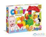 Clammy Baby: Boldog Farm Puha Építőkocka Készlet (Clementoni, 14954)