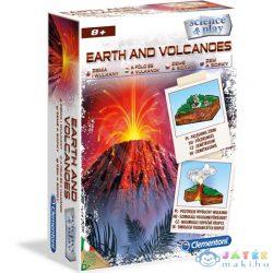 Clementoni: A Föld És A Vulkánok Tudományos Játékszett (Clementoni, 60786)