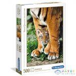 Bengáli Tigris Kölyök Hqc 500Db-os Puzzle - Clementoni (Clementoni, 35046)