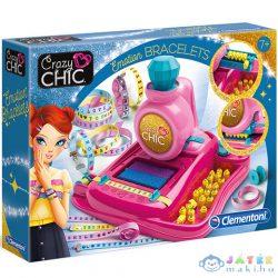 Crazy Chic Emotion Karkötő Készítő Szett - Clementoni (Clementoni, 78421)