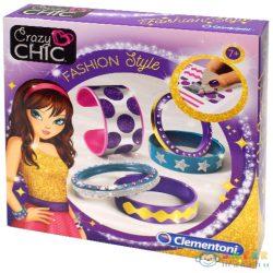 Crazy Chic Fashion Style Karkötő Készítő Szett - Clementoni (Clementoni, 78251)
