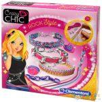 Crazy Chic Rock Style Karkötő Készítő Szett - Clementoni (Clementoni, 78255)