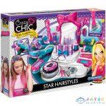 Crazy Chic Star Hairstyles Fodrász Szalon Szett - Clementoni (Clementoni, 78420)