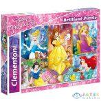 Disney Hercegnők 3D-S 104 Db-os Puzzle - Clementoni (Clementoni, 20609)