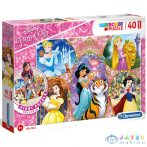 Disney Hercegnők 40Db-os Padló Puzzle - Clementoni (Clementoni, 25463C)