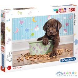 Imádnivaló Kutyakölyök Supercolor Puzzle 180Db-os - Clementoni (Clementoni, 29754)
