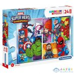 Marvel Szuperhősök 24 Db-os Maxi Puzzle - Clementoni (Clementoni, 24208)