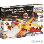 Mechanikai Labor Hidroplán És Motorcsónak 2 Az 1-Ben Építőjáték - Clementoni (Clementoni, 50142)