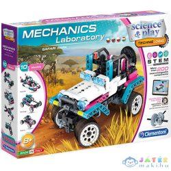Mechanikai Labor Szafari Park 10 Az 1-Ben Építőjáték - Clementoni (Clementoni, 50145)