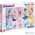 Miracle Tunes Lányok Supercolor Puzzle 104Db-os - Clementoni (Clementoni, 27122)