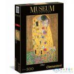Museum Collection: Gustav Klimt - Csók 500 Db-os Puzzle - Clementoni (Clementoni, 35060C)