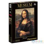 Museum Collection: Leonardo Da Vinci - Mona Lisa 500 Db-os Puzzle - Clementoni (Clementoni, 30363)