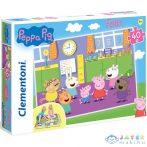 Peppa Malac 40Db-os Padló Puzzle - Clementoni (Clementoni, )