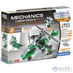 Science & Play: Mechanikus Labor Helikopter És Légpárnás 2 Az 1-Ben Építőjáték - Clementoni (Clementoni, 60973)