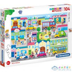 Városban Supercolor Puzzle 104Db-os - Clementoni (Clementoni, 27114)