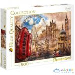 Clementoni: Vintage London 1500Db-os Puzzle - High Quality Collection (Clementoni, 31807)