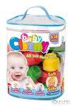 Clemmy Baby: 48 Darabos Puha Építőkocka Készlet (Clementoni, 17134)