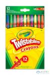 Crayola: 12 Darabos Csavarozható Zsírkréta (Crayola, 52-8530)