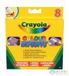 Crayola: 8 Db Lemosható Vastag Filctoll Fehér Táblára (Crayola, 8223)