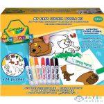 Crayola Mini Kids: Matricás Puzzle (Crayola, 81-8113)