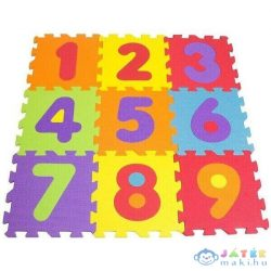Habcsivacs Puzzle Szőnyeg, 9 Db-os - Számok (Darpeje, TTMZ003)