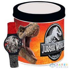 Jurassic World: Karóra Fém Díszdobozban Fekete-Piros (Diakakis, DIAKAKIS-570744)