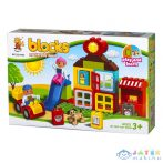 Luna Blocks: Farm Építőjáték - 38 Darabos (Diakakis, 658254)