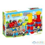 Luna Blocks: Mozdony Építőjáték - 53 Darabos (Diakakis, 658256)