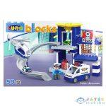 Luna Blocks: Rendőrségi Építőjáték - 53 Darabos (Diakakis, 621038)