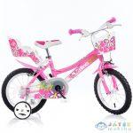 Flappy Rózsaszín-Fehér Kerékpár 16-os Méretben (Dino Bikes, 166R-02)