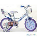 Jégvarázs 2 Fehér-Lila Színű Kerékpár 14-Es Méretben (Dino Bikes, 144R-FZ3)