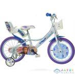 Jégvarázs 2 Fehér-Lila Színű Kerékpár 16-os Méretben (Dino Bikes, 164R-FZ3)