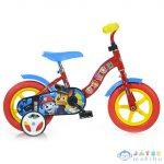 Mancs Őrjárat Piros-Kék Kerékpár 10-Es Méretben (Dino Bikes, 108L-PW)