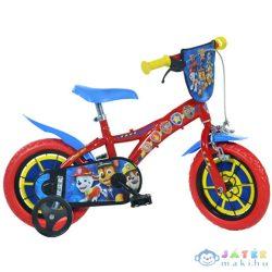 Mancs Őrjárat Piros-Kék Kerékpár 12-Es Méretben (Dino Bikes, 612L-PW)