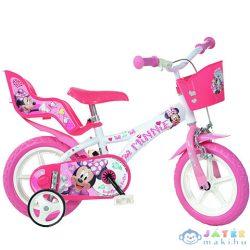 Minnie Egér Kerékpár Kosárral 12-Es Méretben (Dino Bikes, 612L-NN)