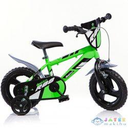 Mountain Bike R88 Zöld-Fekete Kerékpár 12-Es Méretben (Dino Bikes, 412UL-R88)
