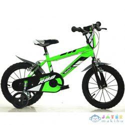 Mountain Bike R88 Zöld-Fekete Kerékpár 16-os Méretben (Dino Bikes, 416U-R88)