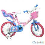 Peppa Malac Rózsaszín Kerékpár 14-Es Méretben (Dino Bikes, 144R-PIG)