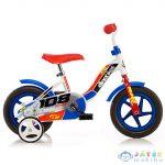 Piros-Fehér Kerékpár 10-Es Méretben (Dino Bikes, 108L-0506)