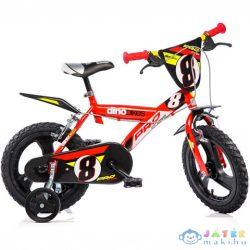 Pro Kerékpár Piros Színben 14-Es Méret (Dino Bikes, 143GLN-06)