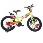 Raptor Narancssárga Kerékpár 14-Es Méretben (Dino Bikes, 614L-RP)