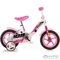 Rózsaszín Kerékpár 10-Es Méretben (Dino Bikes, 108L-0509)