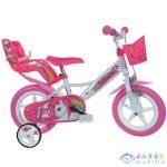 Unikornis Rózsaszín-Fehér Kerékpár 12-Es Méretben (Dino Bikes, 124RL-UN)