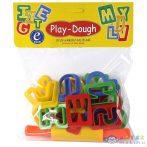 Play-Dough: Abc Formák És Nyújtóhenger (ER Toys, )